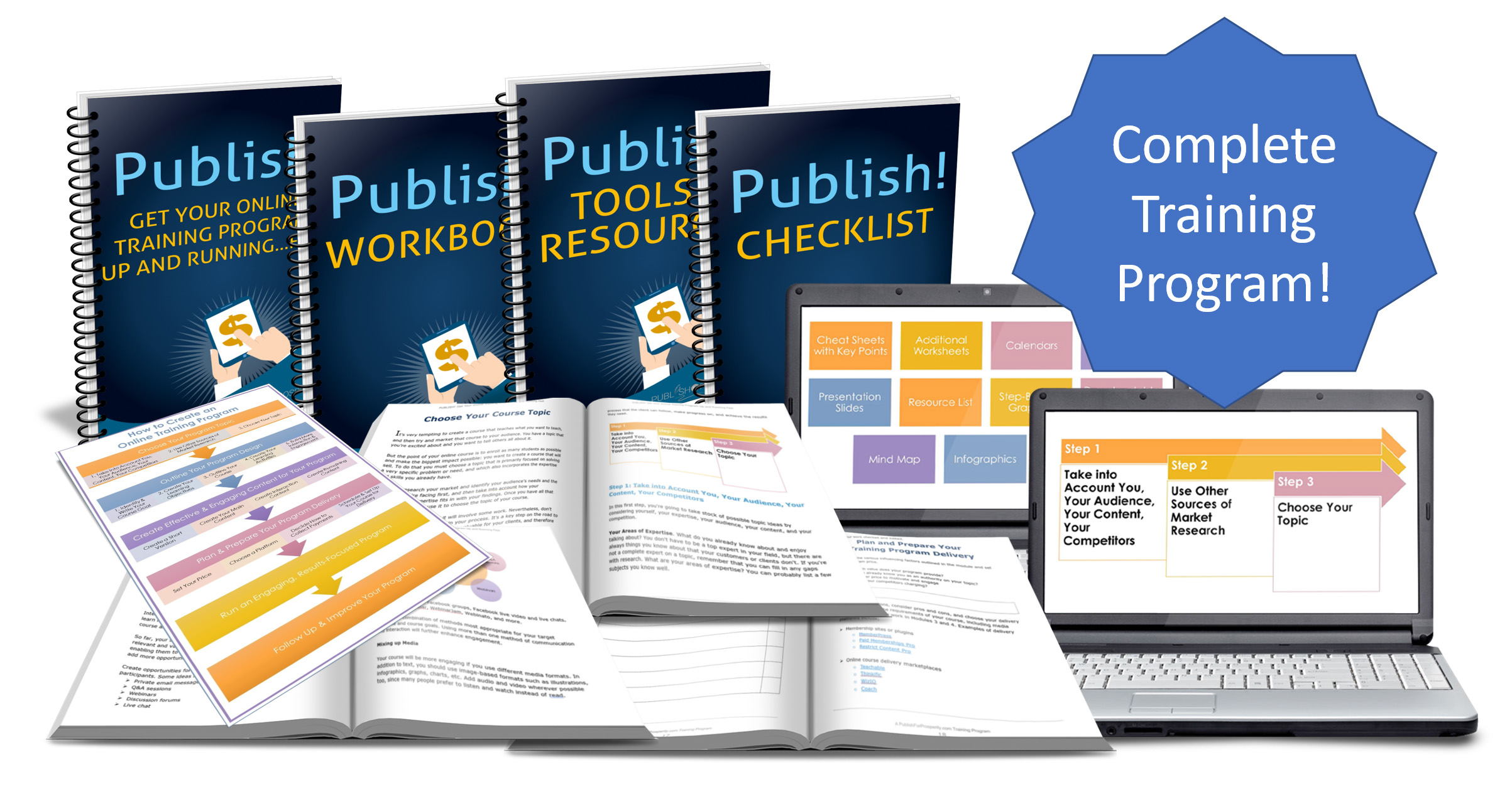 Publish! Get Your Online Training Program Up and Running...Fast
