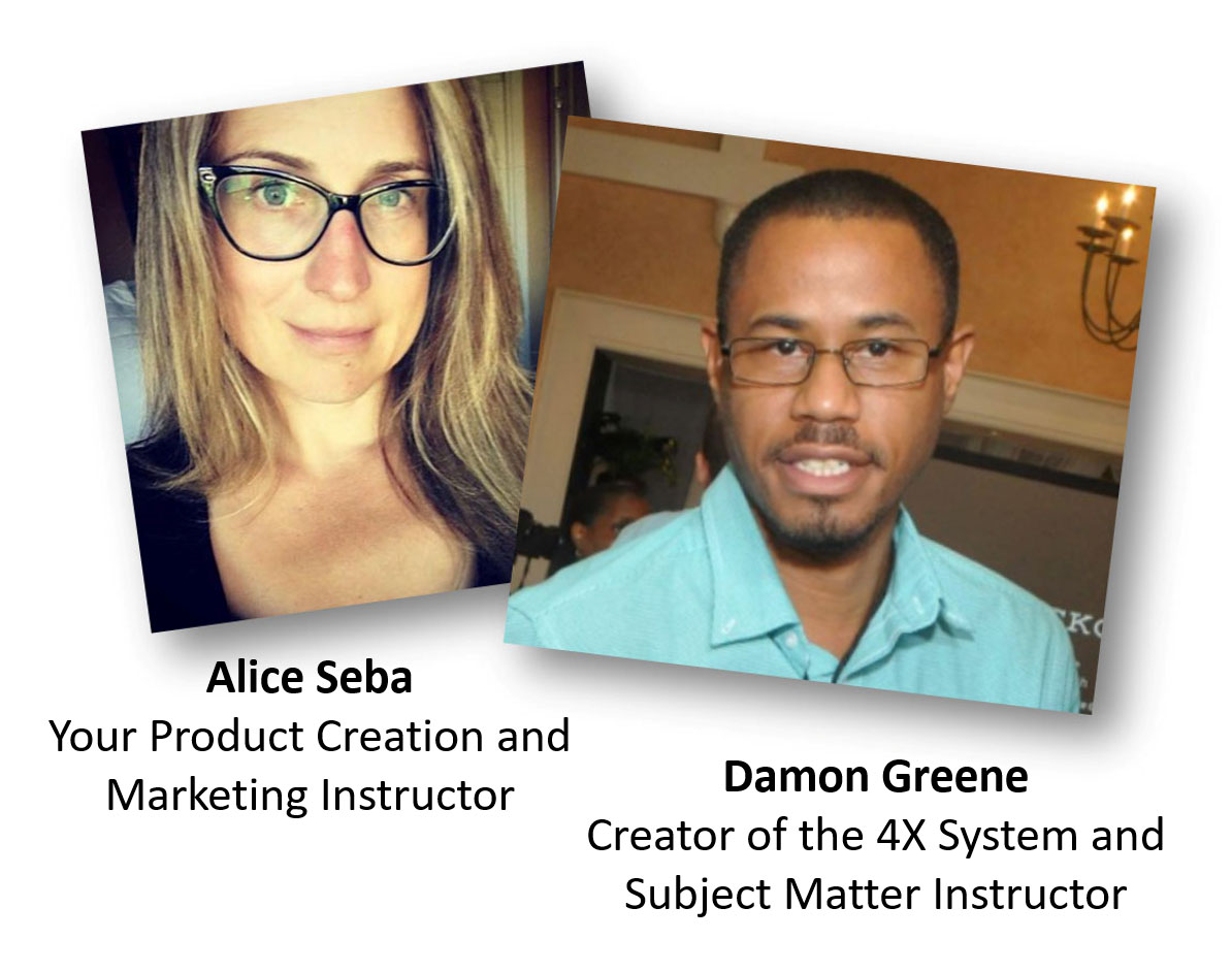 Alice Seba and Damon Greene
