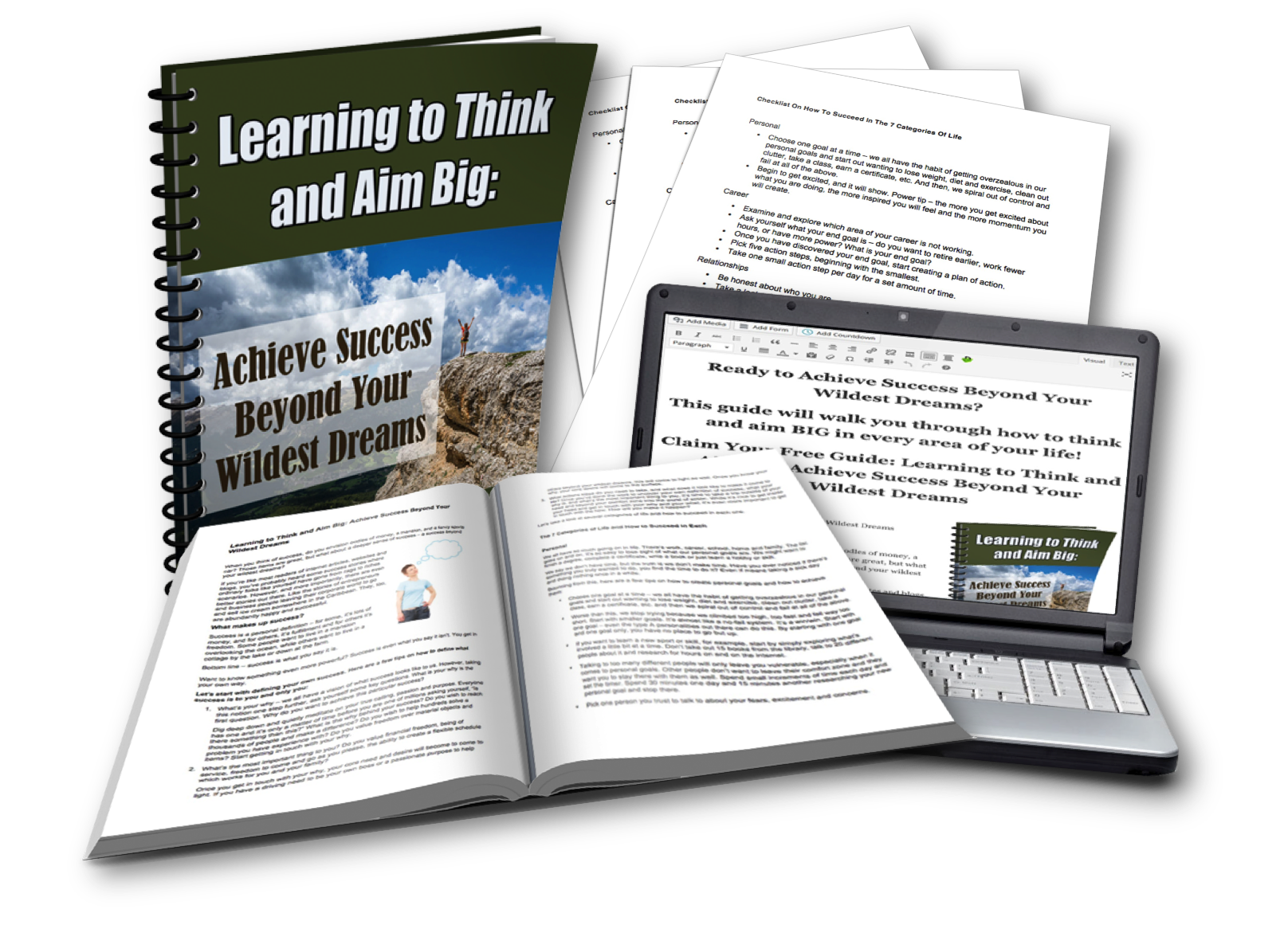 Think and Aim Big Free PLR Pack