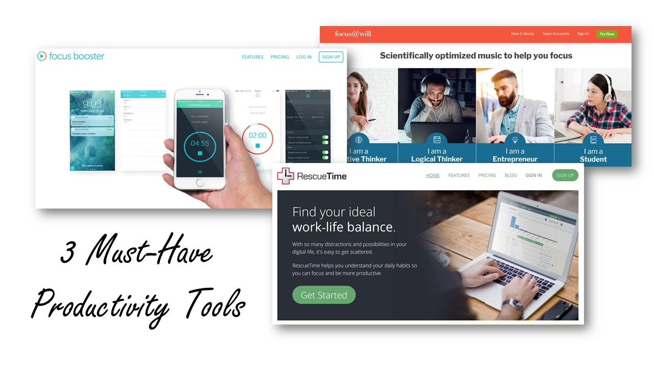 Must-Have Productivity Tools