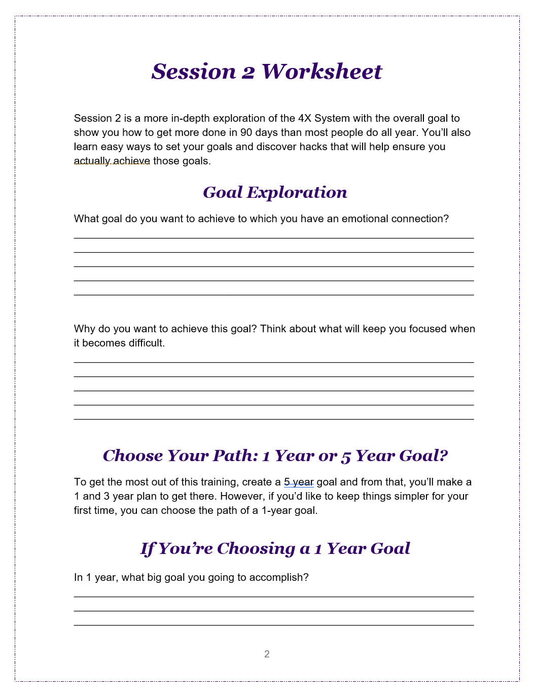 worksheet Stand And Deliver Worksheet using printables to boost conversions and sales the worksheet helps student apply what they learned in this session their own lives so can start achieving big goals