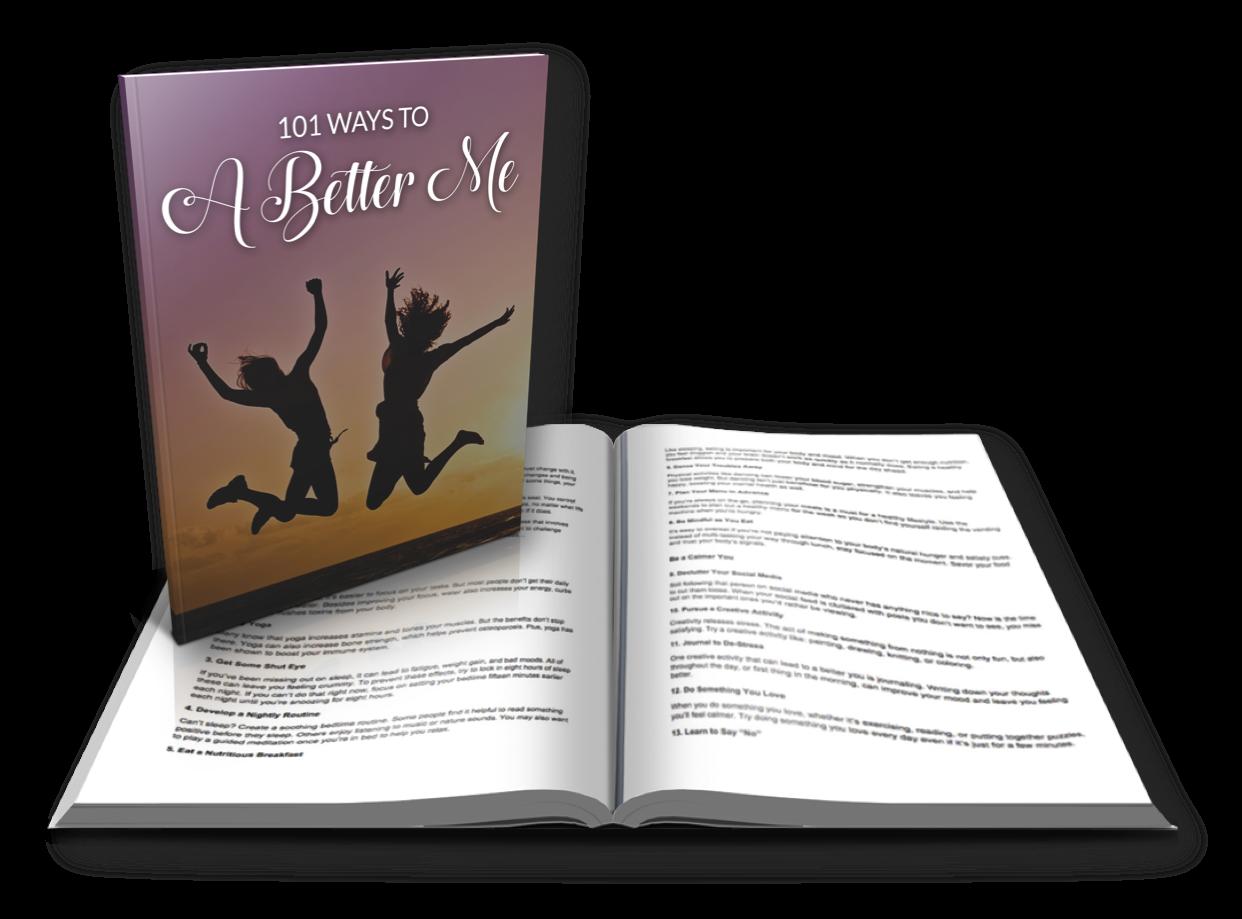 101 Ways to a Better me - PublishForProsperity com