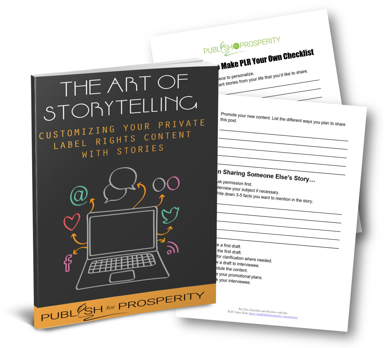 Storytelling to Customize Your PLR