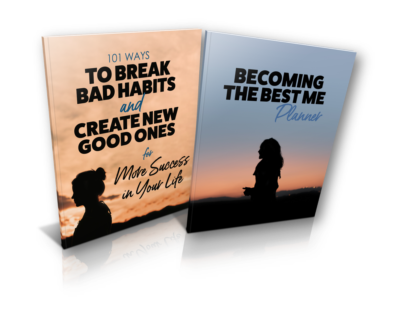 Click on the image to register to receive 101 Ways To Break Bad Habits... ebook & Becoming The Best Me 365 day planner