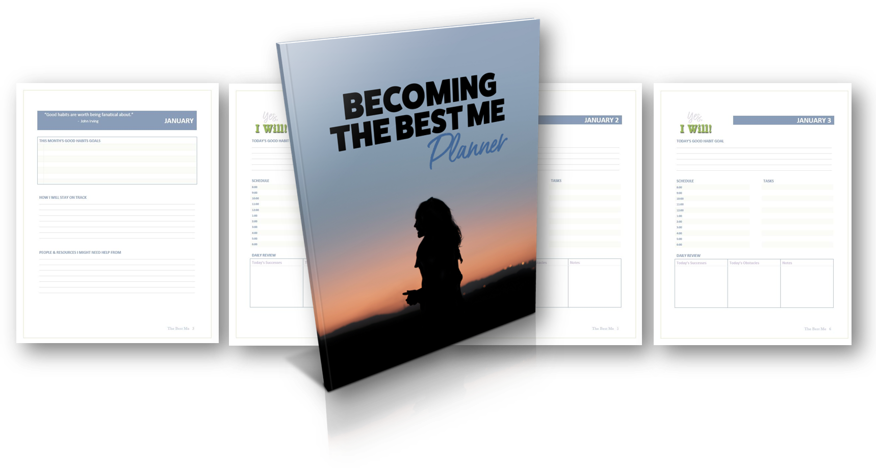 Becoming the Best Me Journal