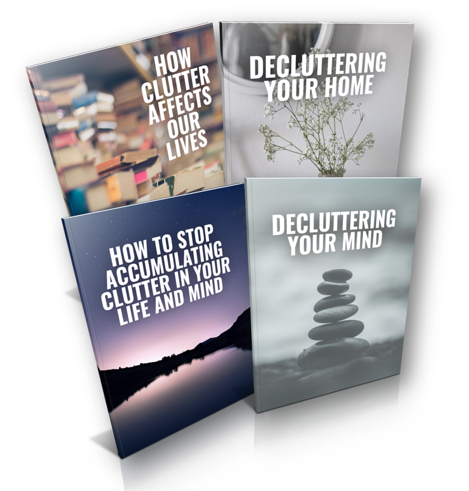 4 Weeks to Decluttering Your Life and Mind for More Focus Ecover Images