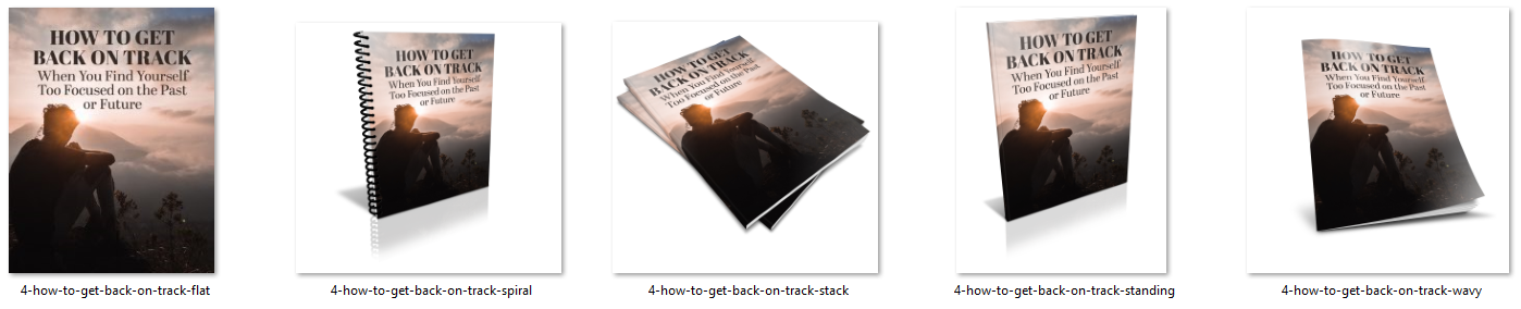 Get back on track living in the now ecovers