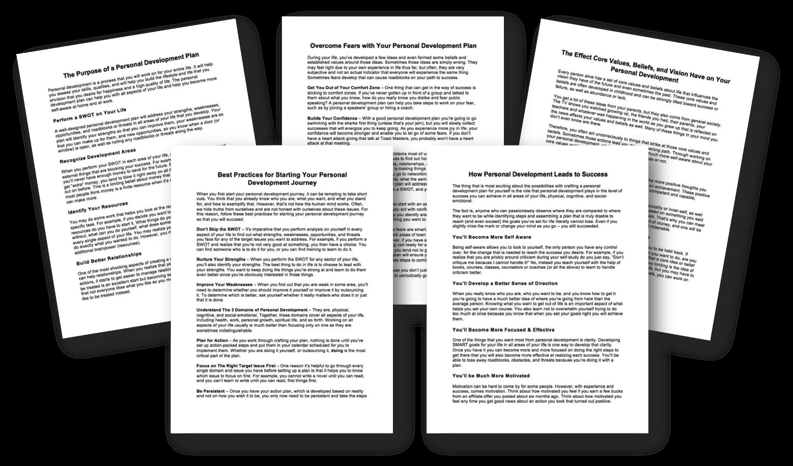 Free Personal Development Articles
