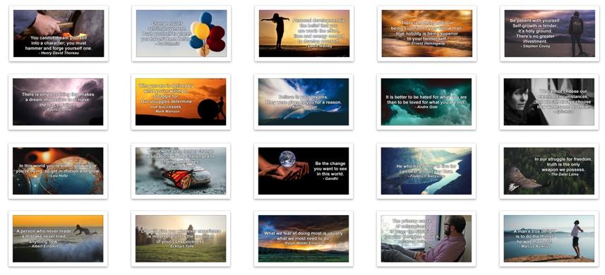 Personal Development Social Media Graphics