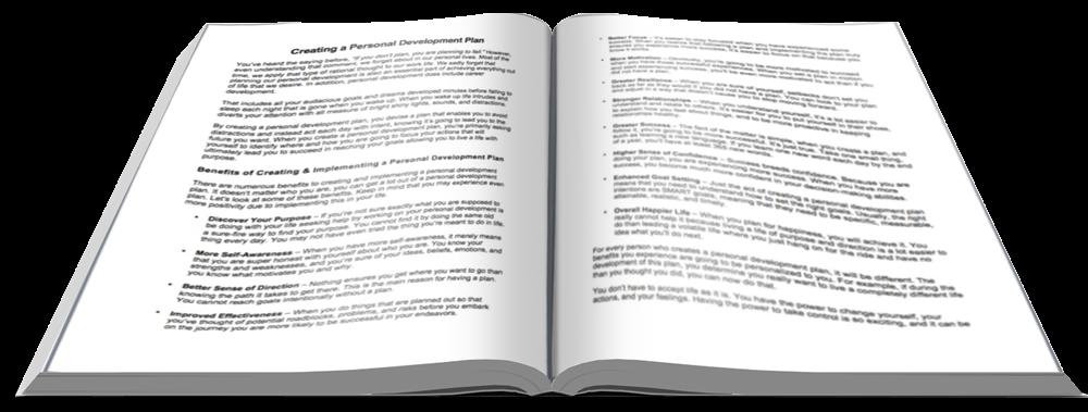 Personal Development Plan Report