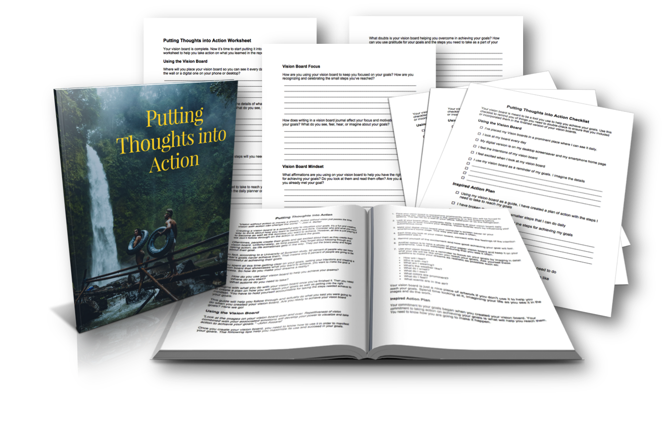 Putting Thoughts Into Action Guide
