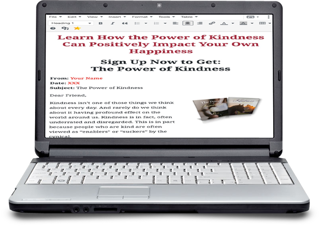 The Power of Kindness Optin