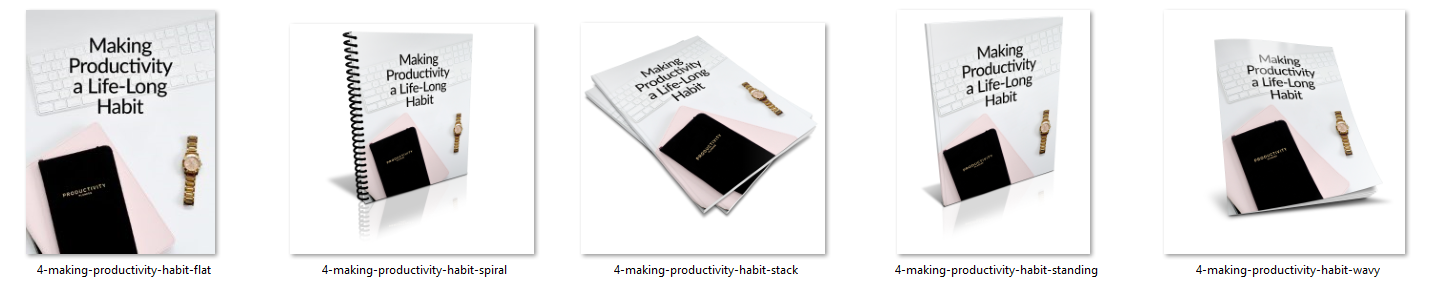 Make Productivity a Life Long Habit Ecovers