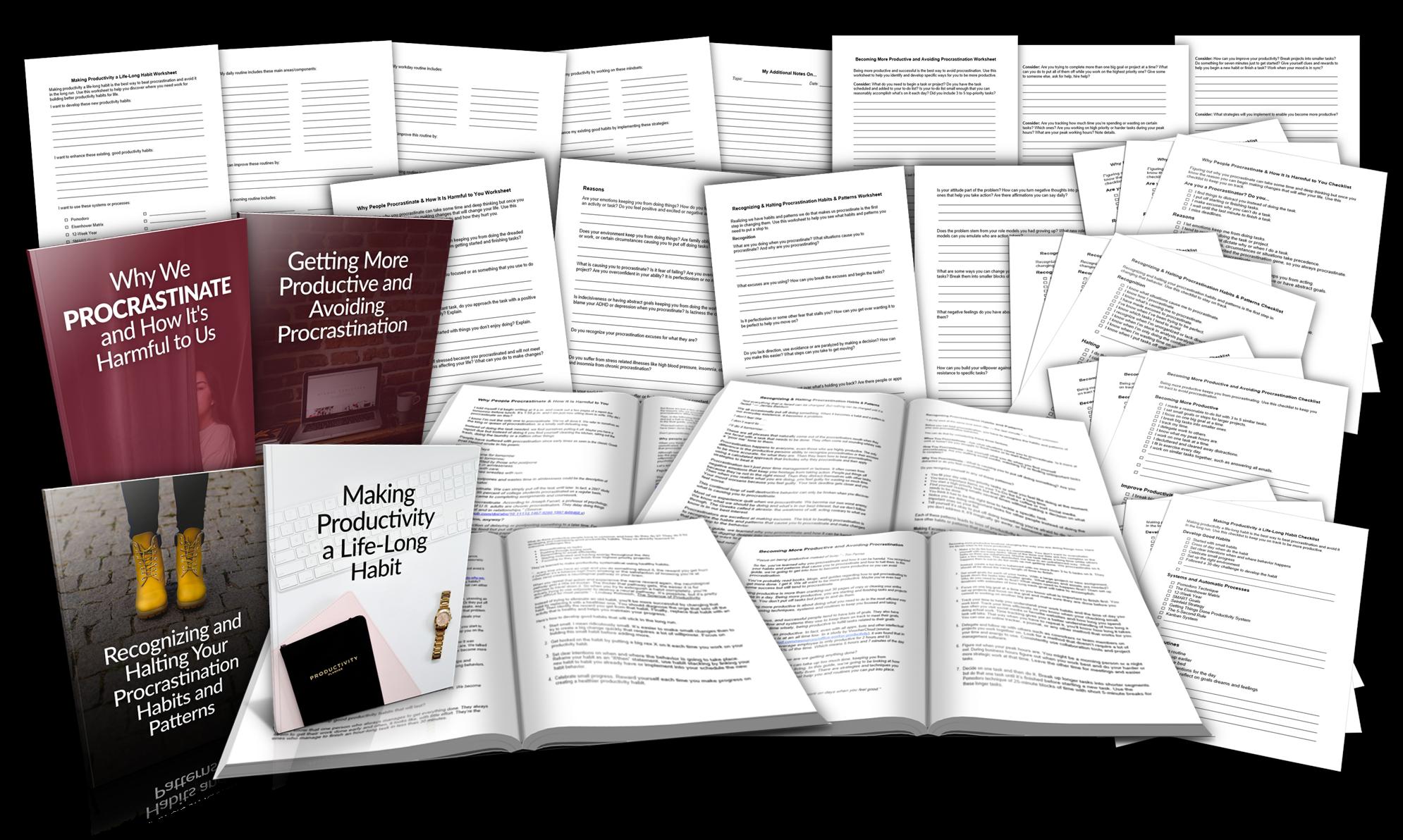 Overcoming Procrastination Promo Graphic