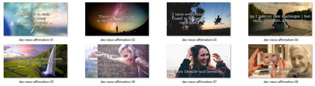 Affirmation Graphics