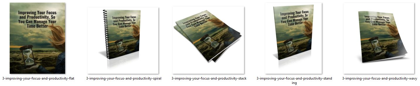 Improving Your Focus and Productivity ecover