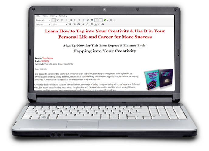 creativity opt-in image