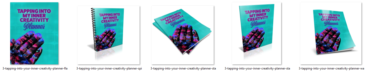 Creativity Planner Ecovers Image