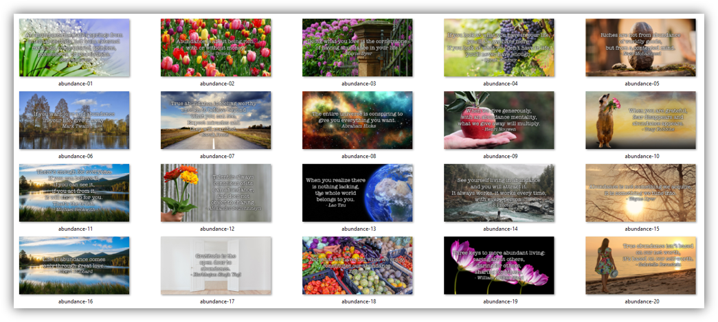 abundance graphics image