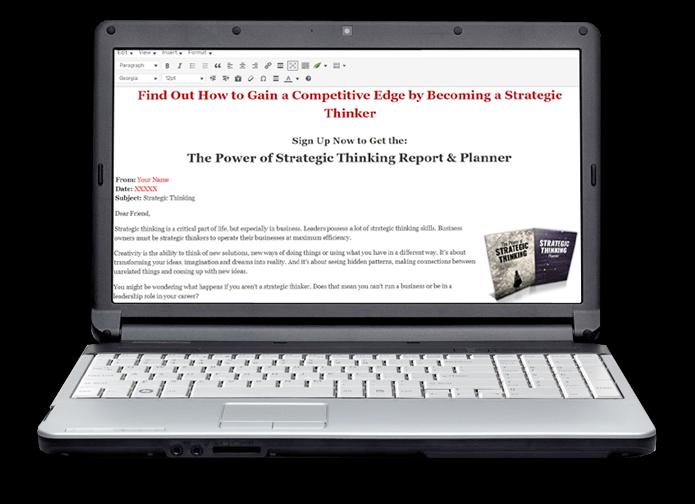 Strategic Thinking Optin Image
