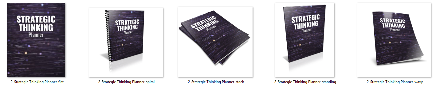 Strategic Thinking Planner Ecovers