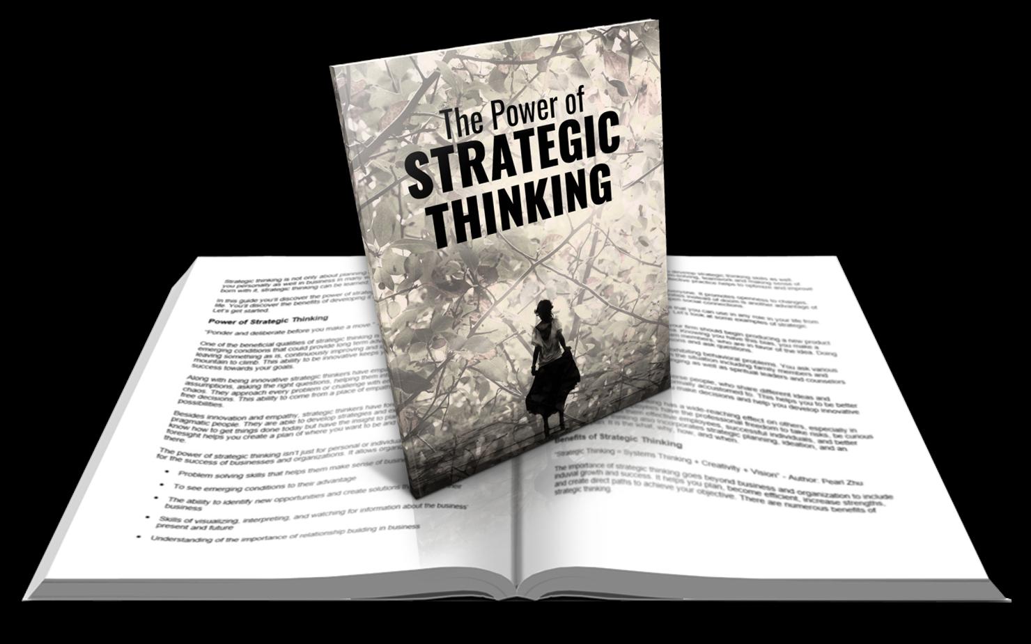 Strategic Thinking Report