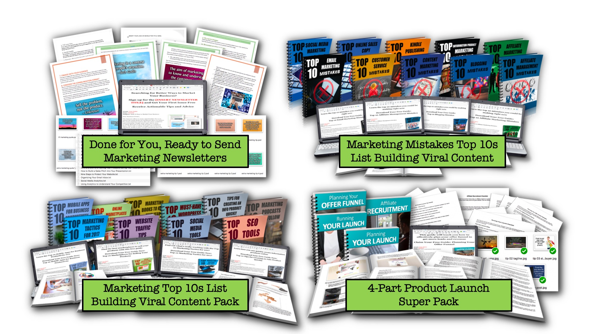 Must Have Marketing Strategies Super Pack