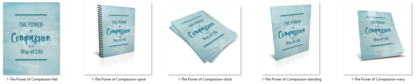 compassion report ecovers