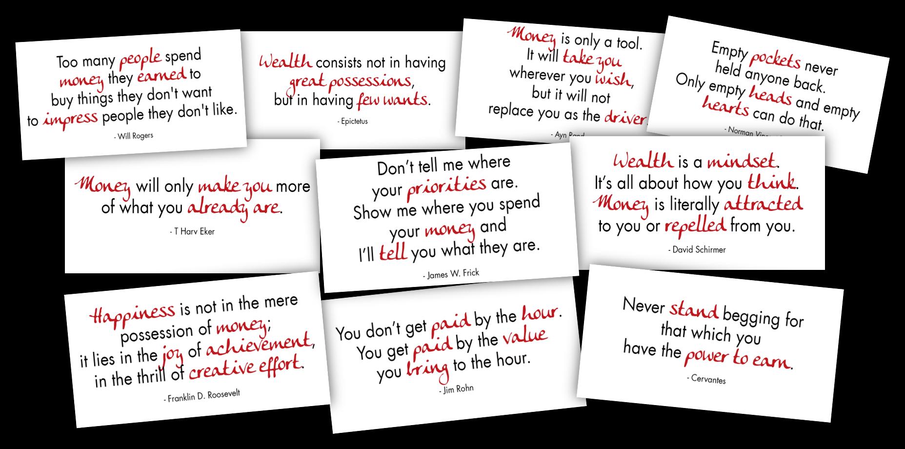 wealth mindset free graphics