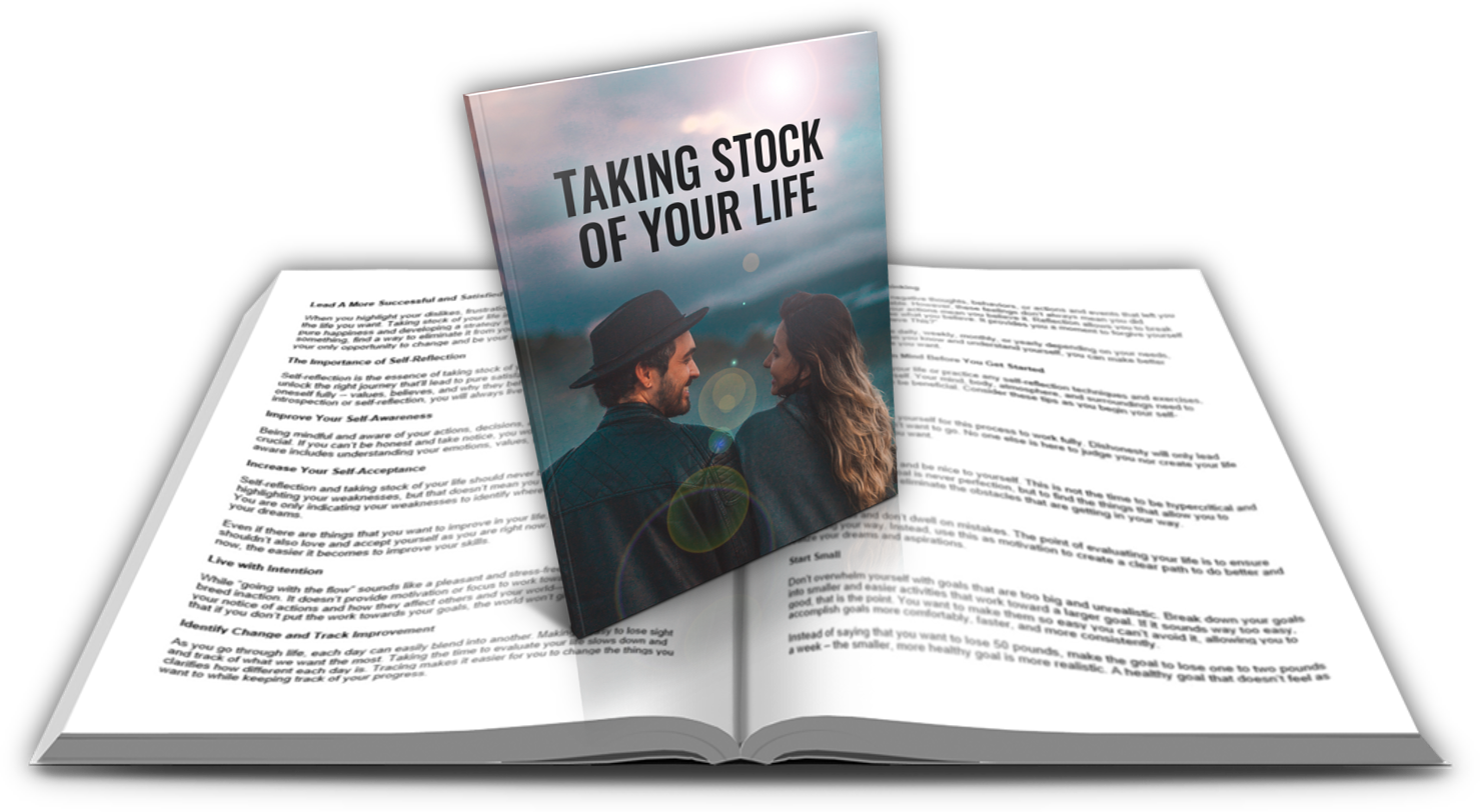 1-Taking Stock of Your Life-report