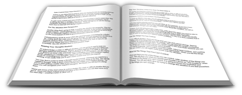 Dealing with Crisis PLR Report